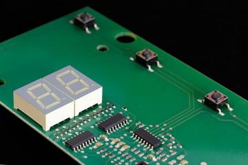Electronic control Board.