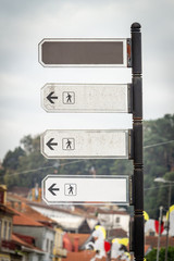 Location and Direction Signs Mockup