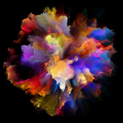 Layers of Color Splash Explosion