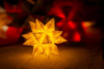 Glowing star