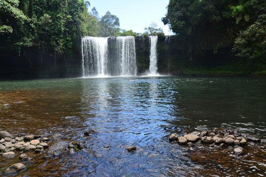 Cascades Tad Itou Bolovens Laos - Tad Fane Waterfalls Bolovens Plateau Laos
