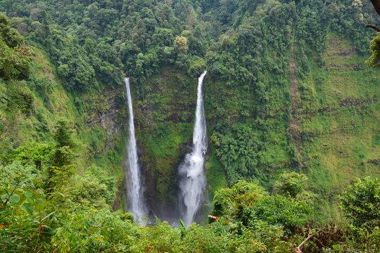 Cascades Tad Fane Bolovens Laos - Tad Fane Waterfalls Bolovens Plateau Laos