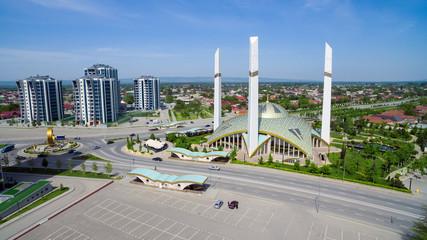 """Mosque """"Mother's Heart"""". Argun. Chechen Republic. Russia"""