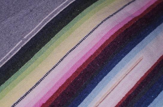 Cotton serape - Mexico