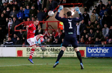 FA Cup Second Round - Wrexham v Newport County