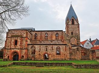 Totenkirche Ruine in Treysa bei Schwalmstadt