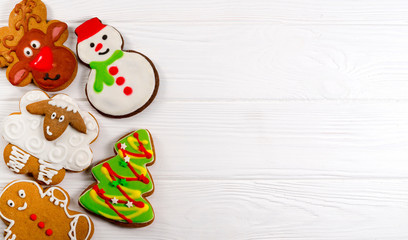 New Year gingerbread cookies
