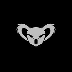 Fototapeta premium Szablon projektu logo głowa koali