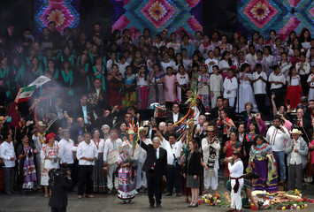 Newly inaugurated Mexico's President Andres Manuel Lopez Obrador
