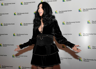 Kennedy Center Honoree Cher arrives for gala at US State Department