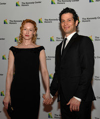Kennedy Center Honoree Thomas Kail arrives for gala at US State Department