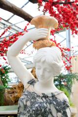 Beauty head sculpture