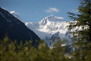 Mount Belukha, also spelled Belucha, Russian Gora Belukha, one of the Katun Mountains, a series of snowcapped peaks in Russia. The highest mountain in the Russian portion of the Altai Mountains.