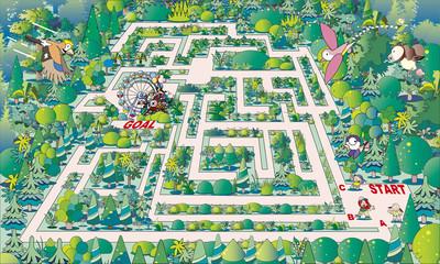 迷路_森の遊園地