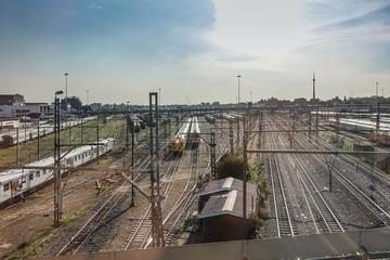 Bahnhofsbereich in Johannesburg