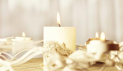 Weihnachtszeit Kerzen