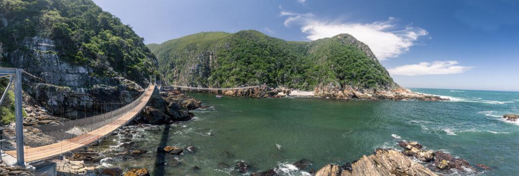 Die Hängebrücken vom Tsitsikamma Nationalpark