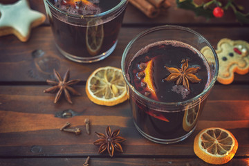 Hot Mulled wine for the Christmas