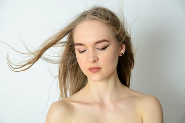 Portrait of Ukrainian girl