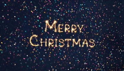 Wide Angle holiday web banner Merry Christmas
