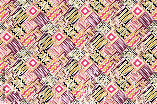 abstract background  African patterns