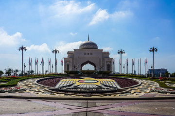Canvas Prints Abu Dhabi Abu Dhabi Rawal Fountain