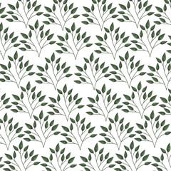 floral nature garden pattern decoration