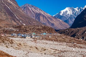 Nepal Langtang valley village