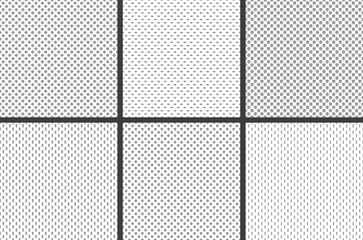 Sport jersey fabric textures. Athletic textile mesh material structure texture, nylon sports wear grid cloth seamless vector pattern Fototapete