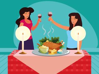 Thanksgiving celebration design