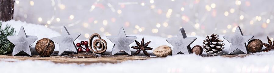 weihnachtskarte hintergrund natürlich bokeh zapfen