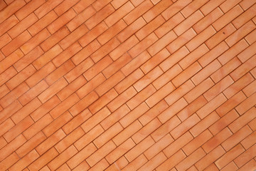 Terracotta wall,brick wall.