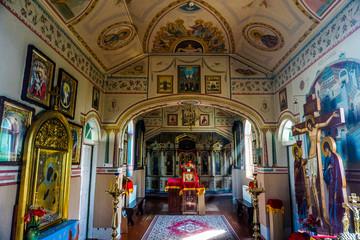 Brest Saint Athanasius Monk Monastery Interior