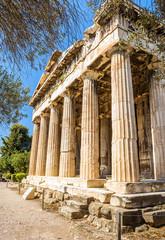 Temple of Hephaestus in Athens, Greece