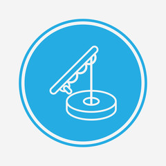 Fishing vector icon sign symbol
