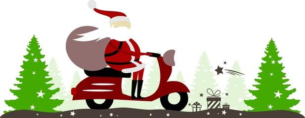 Santa Claus Scooter