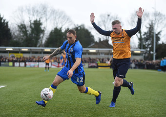 FA Cup Second Round - Slough Town v Gillingham