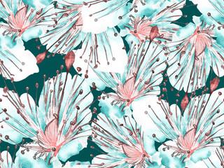 Bold Floral Design.