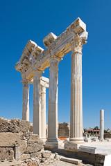 Apollotempel in Side, Antalya Province, Türkei