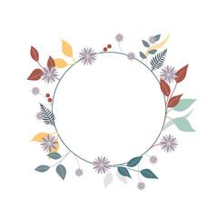 Winter Blüten Kranz