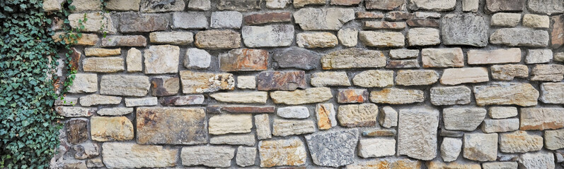 rough stone wall in poster size