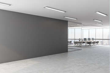 Fotomurales - Grey office with copyspace
