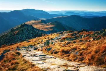 Mountain trail Low Tatras National Park