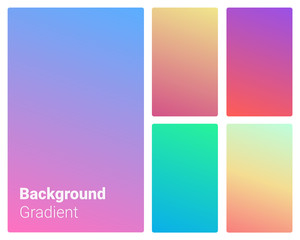 Vibrant and smooth gradient soft colors for devices, pc's and modern backgrounds