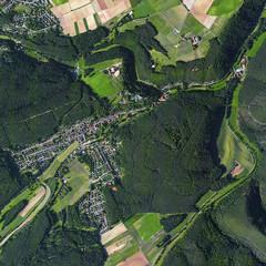 Luftbild Altleiningen