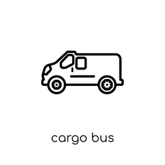 Cargo Bus icon from Delivery and logistic collection.