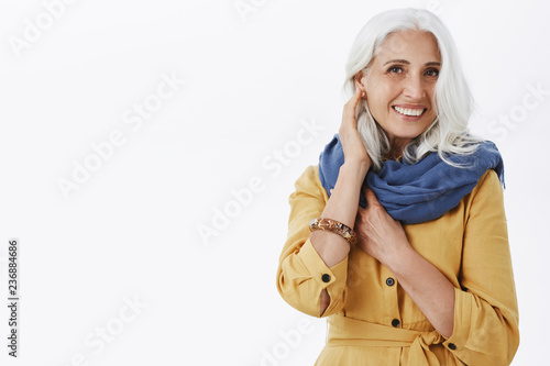 How Do I Look Charming Fashionable And Pleased Grandmother With