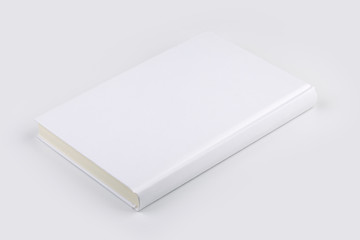 Blank White Book Or Notebook Isolated On White