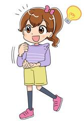 女の子(アニメ・ゲーム風テイスト)