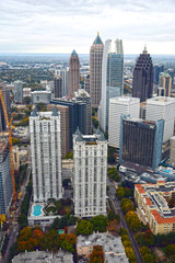 Aerial View of Atlanta GA